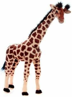 Fiesta Toys Giraffe Standing Plush Stuffed Animal Toy by Plu