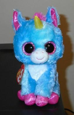 """Ty Beanie Boo - STITCHES the Unicorn 6""""  NEW ~ IN HAND"""
