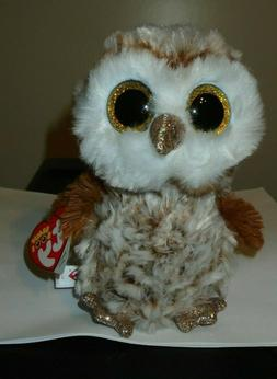 Ty Beanie Boos ~ PERCY the Owl  2019 NEW MWMT ~ IN HAND