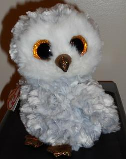 """Ty Beanie Boos - OWLETTE the 6"""" Owl ~ 2016 NEW Release ~ wit"""