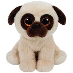 TY Classic Plush - RUFUS the Pug Dog  - MWMTs Stuffed Animal