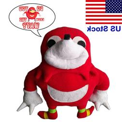 Ugandan Knuckles Plush Toy Do You Know The Way Knuckles Meme