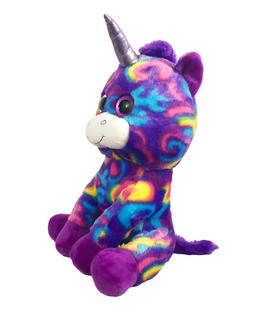 Unicorn Large Plush Stuffed TY Animal Purple Looky Boo's Big