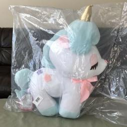 "AMUSE - Unicorn No Cony Blue Japan Plush Toy 21"" Super Big"
