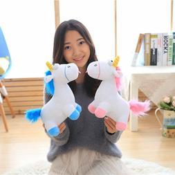Unicorn Toy Plush Pink Blue Horse Doll Kids Toy Unicorn Git
