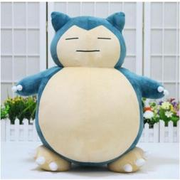 US! Jumbo SNORLAX Pokemon Center Kabigon Plush Toy Soft Doll