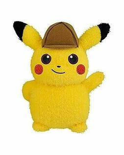 US SELLER Detective Pikachu A huge Plush Doll Stuffed toy BA