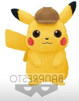US SELLER Detective Pikachu B huge Plush Doll Stuffed toy BA