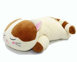 Very Soft Cat Big Hugging Pillow Plush Kitten Kitty Stuffed