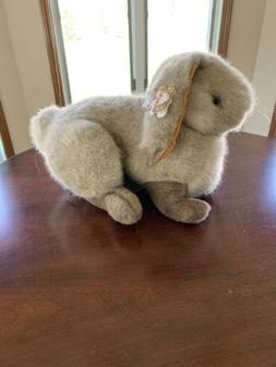 "Vintage 1989 Gund Easter Bunny Rabbit Plush Toy 16"" Floppy E"