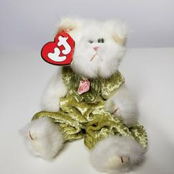 "Vintage TY Attic Treasures Plush Cat ""Katrina"" Stuffed Toy C"