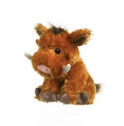 "Warthog plush toy Wildlife Artists stuffed animal 8"" NEW"