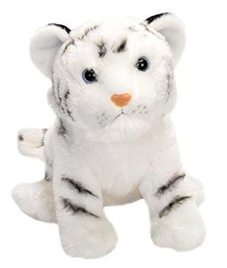 Wild Republic White Tiger Cub Plush, Stuffed Animal, Plush T