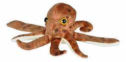 Wild Republic Huggers Octopus Plush Toy, Slap Bracelet, Stuf