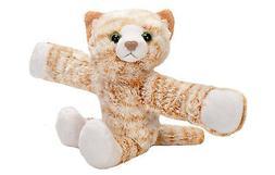 Wild Republic Huggers Tabby Cat Plush Toy, Slap Bracelet, St