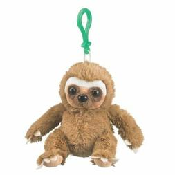 Wildlife Artists Sloth Plush Backpack Clip Toy Keychain 5.5""