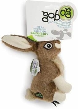 goDog Wildlife Toy with Chew Guard Rabbit Dog play time toug
