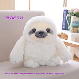 Winsterch Kids Sloth Stuffed Animal Toy Plush Sloth Toy Birt