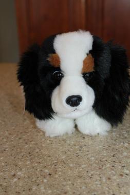 """Aurora World Flopsie Plush Charles Dog 12"""" Cavalier King Spa"""