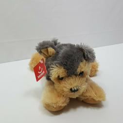 Aurora World Inc Plush Puppy Soft Tan Gray Toy Stuffed Anima