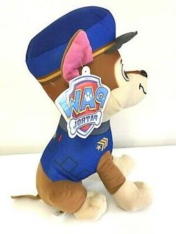 Paw Patrol Plush  Chase  Stuffed Plush Animal 9'' Licensed D