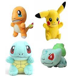"Yunzhicheng Pokemon Go Stuffed Plush Toy Sets 6""  8"" Smile P"