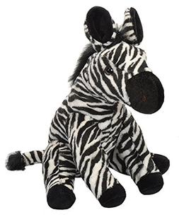 Wild Republic Zebra Stuffed Animal Plush Toy, 12""