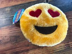 Zippy Paws Plush Emojiz Dog Toy Polyester Fibers Medium Size